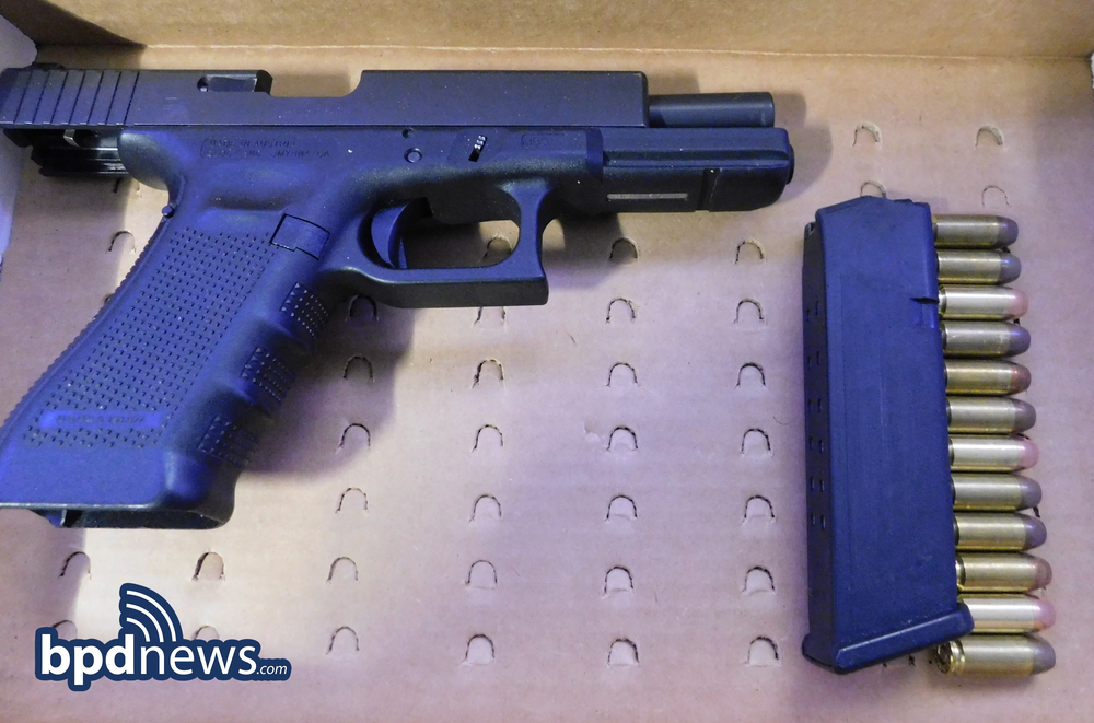 Traffic Stop Results in One Under Arrest and Recovery of Loaded Firearm in Dorchester