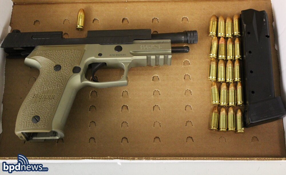One Under Arrest and Loaded Firearm Recovered in Dorchester