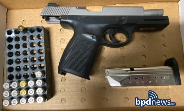 Traffic Stop Results in One Under Arrest and Recovery of Loaded Firearm in Roxbury