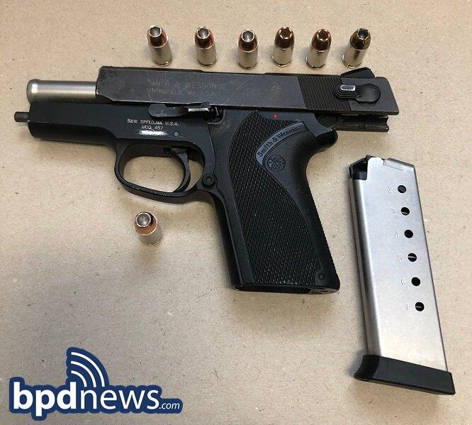 BPD Officers Recover Loaded Firearm While Making Warrant Arrest in Mattapan