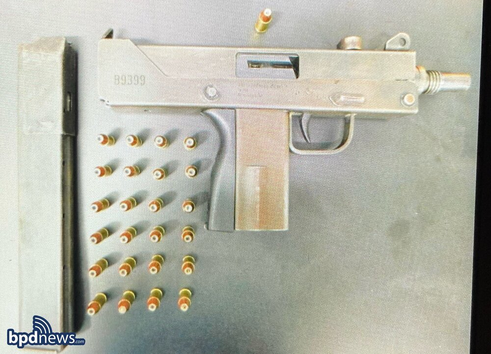 Officers Arrest Two Suspects on Gun Charges After a Traffic Stop in Roxbury