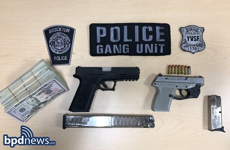 Joint Investigation Leads to Arrest Following the Recovery of Two Loaded Firearms, Drugs and Cash in Brockton, MA