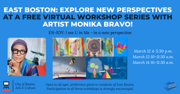 BPD in the Community: East Boston Residents Encouraged to Join Artist Monika Bravo as She Prepares a New Long-Term Art Project for the District A-7 Police Station