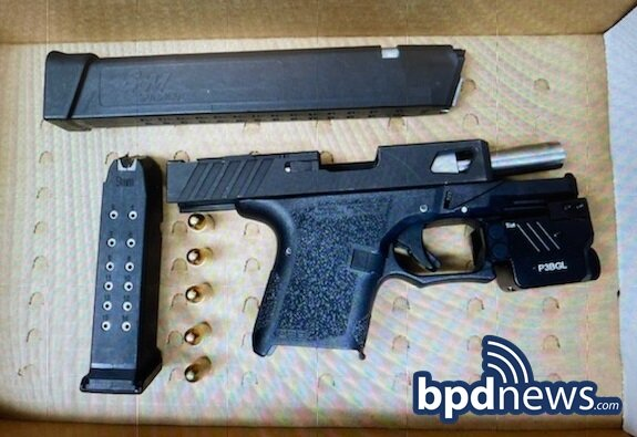Suspect in Custody After BPD Officers Recover Loaded Firearm, Drugs and Cash in Boston