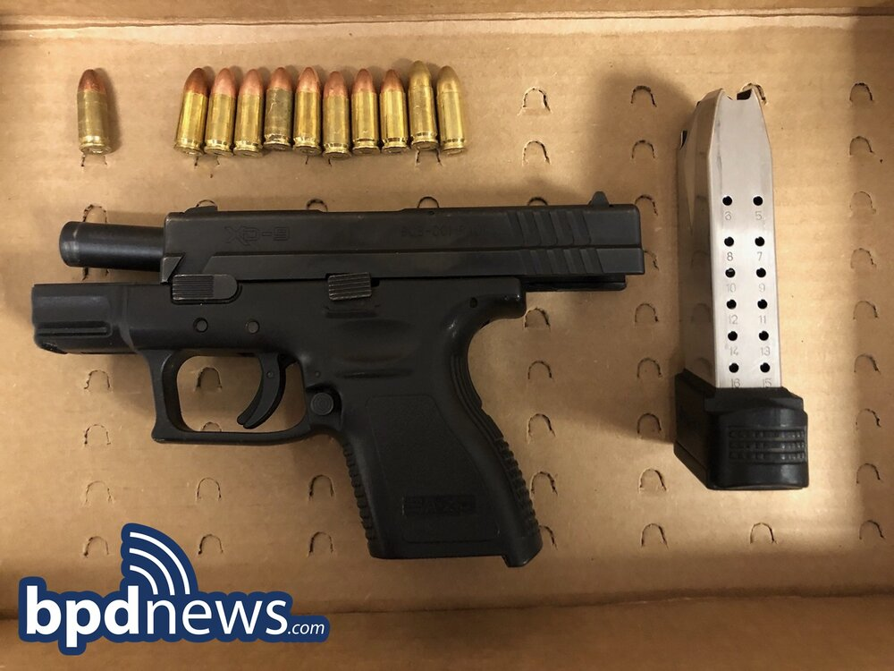 Two Suspects in Custody After Recovery of Loaded Firearm, Drugs and Cash During Traffic Stop in Dorchester