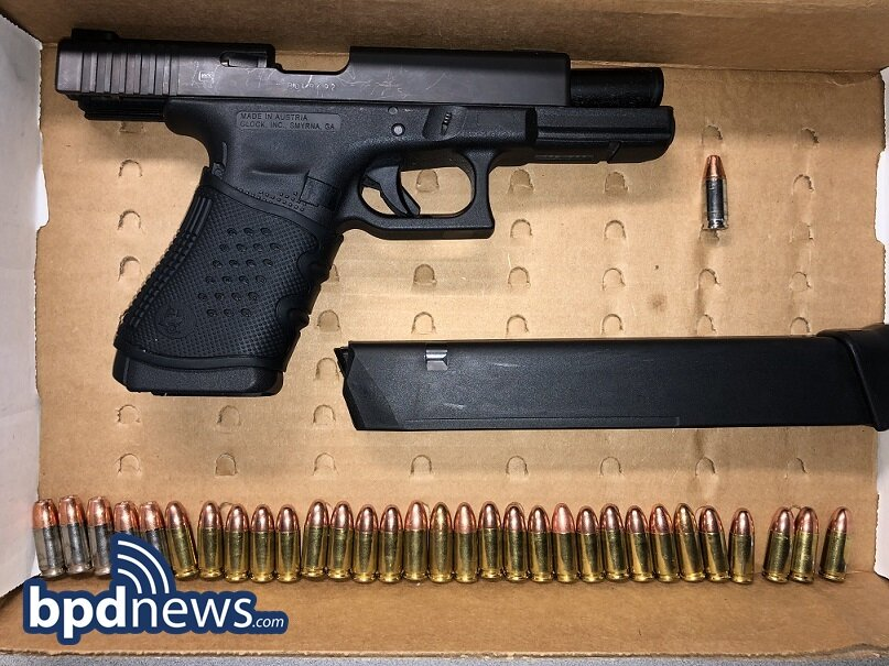Suspect in Custody After Loaded Firearm and Drugs Recovered During Traffic Stop in Dorchester