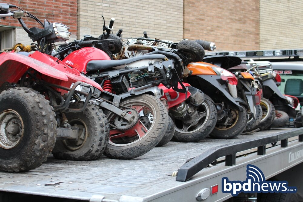 The Boston Police Warn of Increased Activity of Motorized Off-Road Vehicles as Spring Approaches