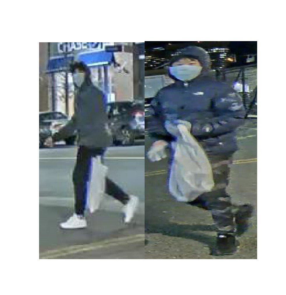 BPD Seeking Help in Identifying Two Possible Suspects in a Tagging Incident in the area of 375 Harrison Avenue in the South End
