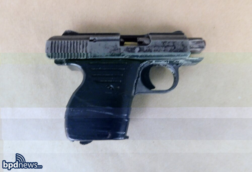 Officers Make Firearm Arrest After Responding to a Call for Shots Fired in Roxbury