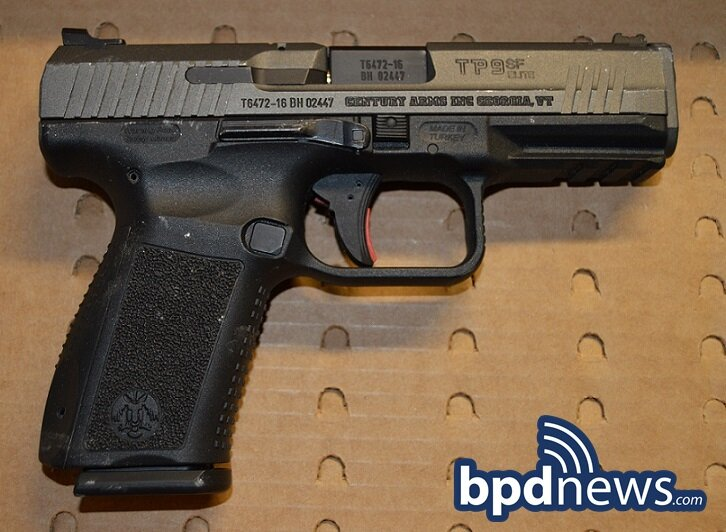 Fleeing Suspect in Custody and Loaded Firearm Recovered After BPD Officers Respond to a Call for a Person with a Gun in Dorchester