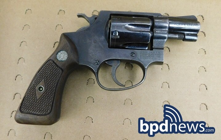 14-Year-Old Male in Custody on Firearm Related Charges Following Response to Shots Fired in Roxbury