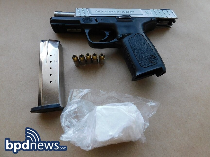 Investigation Update: BPD Detectives Recover Additional Firearm and Drugs While Executing a Search Warrant Following Prior Shots Fired Incident in Roxbury