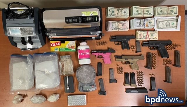 Search Warrant Execution Leads to Arrest Following the Recovery of Four Firearms, Drugs and Cash in Dorchester