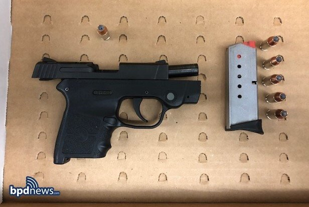 Officers Recover a Loaded Firearm after a Traffic Stop in Roxbury