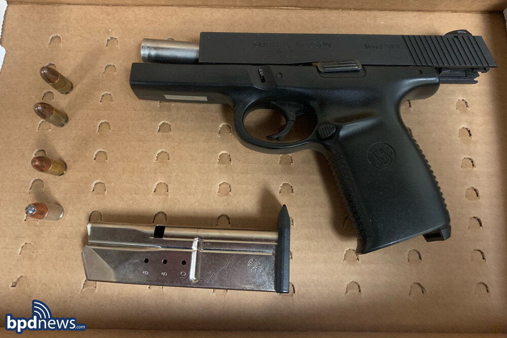 Officers Arrest East Boston Man after he Assaulted a Victim with a Loaded Firearm