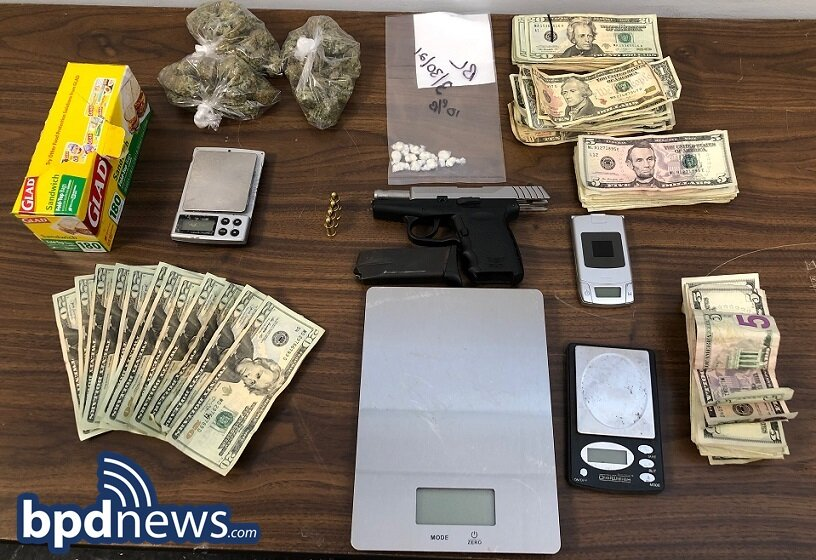 Suspect in Custody After Search Warrant Execution Leads to the Recovery of Loaded Firearm, Drugs and Cash in Dorchester