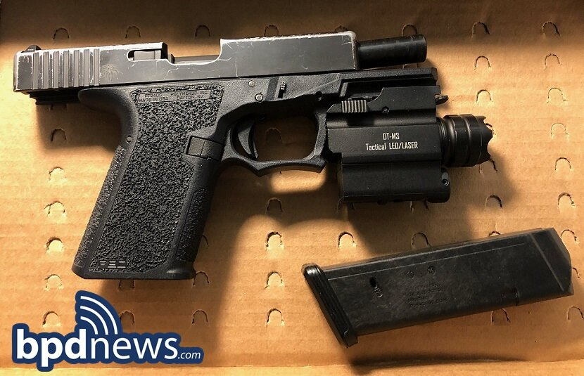 BPD Officers Arrest Armed Suspect After Responding to the Sound of Gunfire in Jamaica Plain