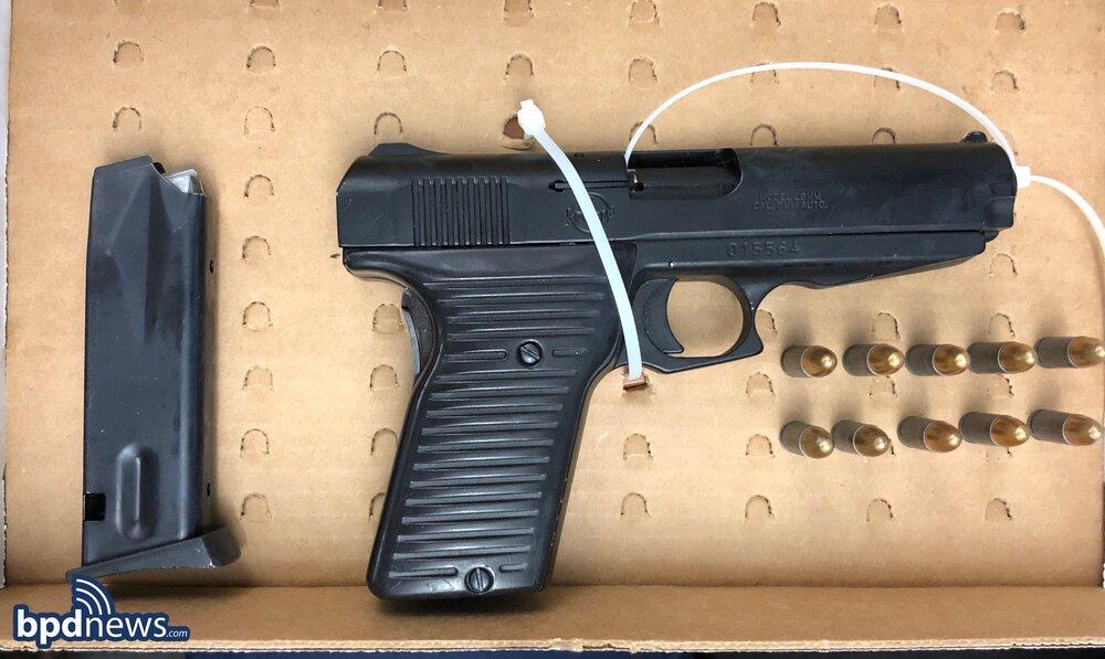 Officers Arrest Roxbury Man in Possession of a Loaded Firearm