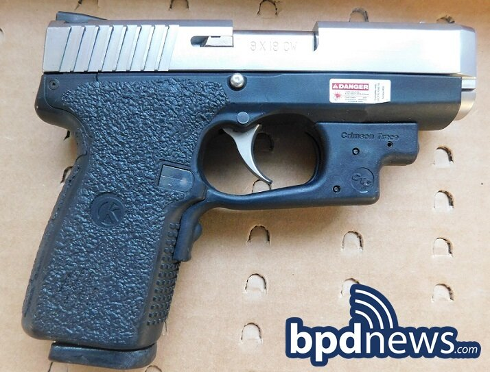 Suspect in Custody After BPD Officers Recover Loaded Firearm in Dorchester