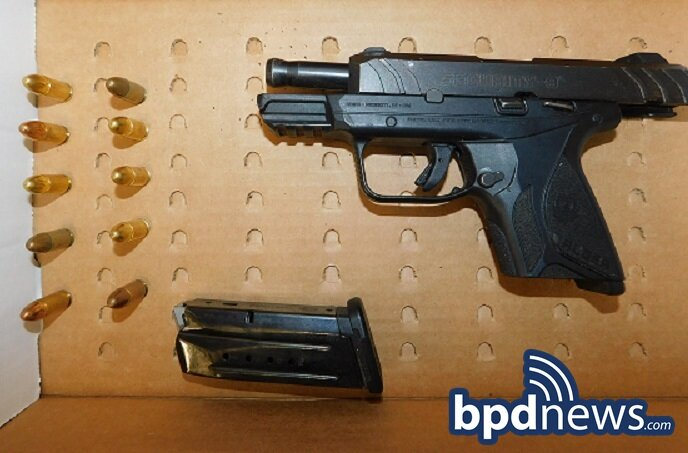 BPD Officers Arrest Suspect on Firearm and Drug Related Charges During Investigation in the South End