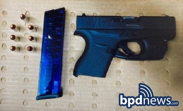 Officers Make a Firearm Arrest in Roxbury after a Traffic Stop