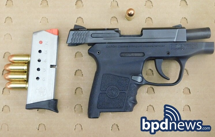 Loaded Firearm Recovered After BPD Officers Respond to Local Area Hospital