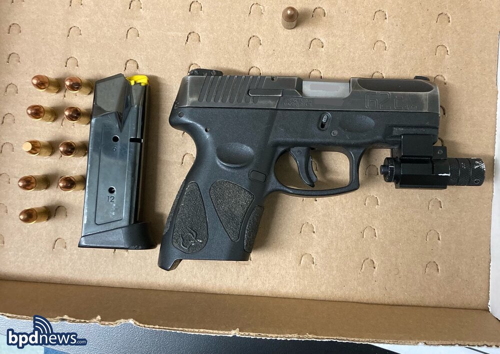 Female Adult Arrested with a Loaded Firearm After a Traffic Stop in Dorchester