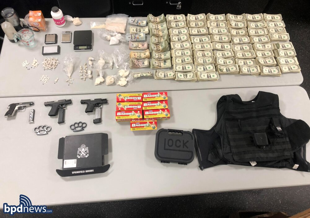 After a Lengthy Investigation, Officers Arrest Boston Man on Weapon and Drug Charges