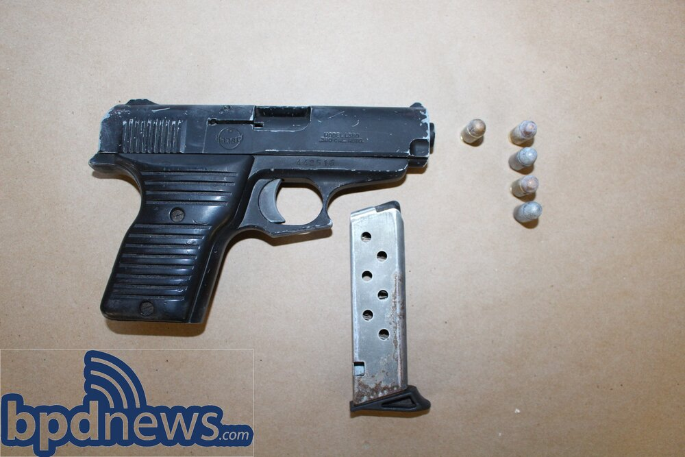 Juvenile Male Arrested on Firearm Charges in Roxbury