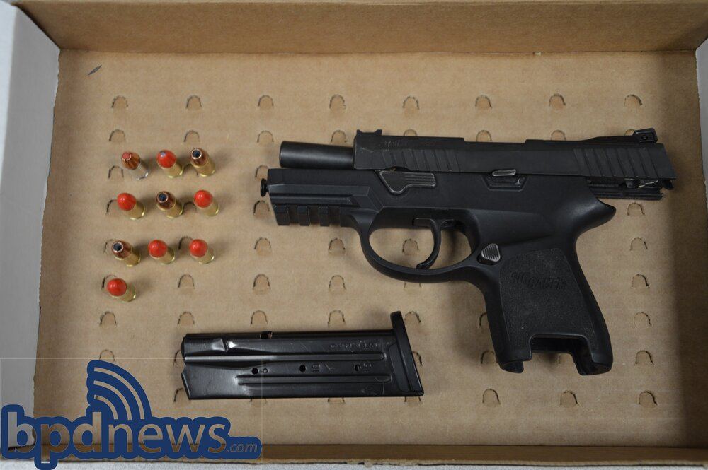 Loaded Firearm Recovered after a Traffic Stop in Dorchester