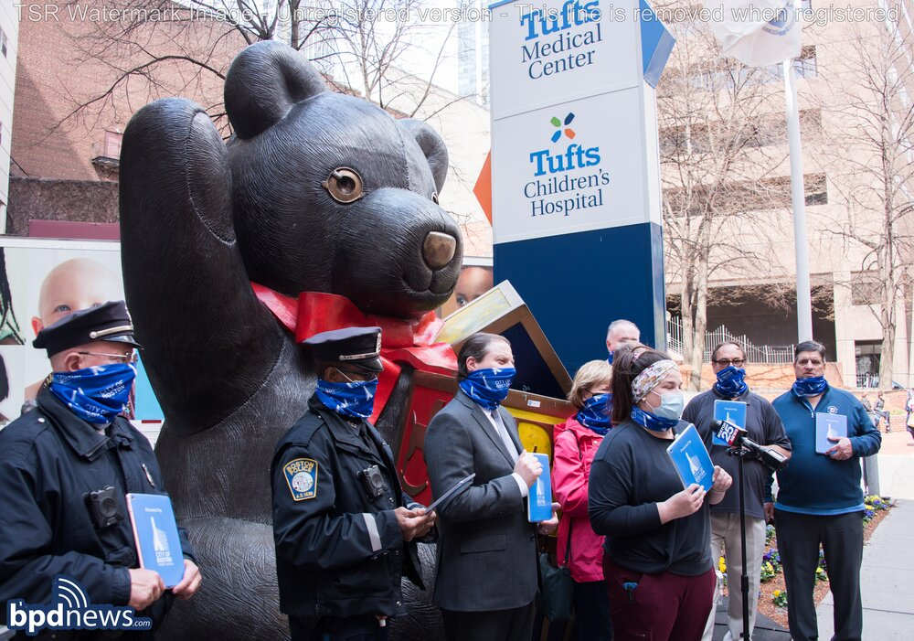 31 iPads Donated to Tufts Children's Hospital