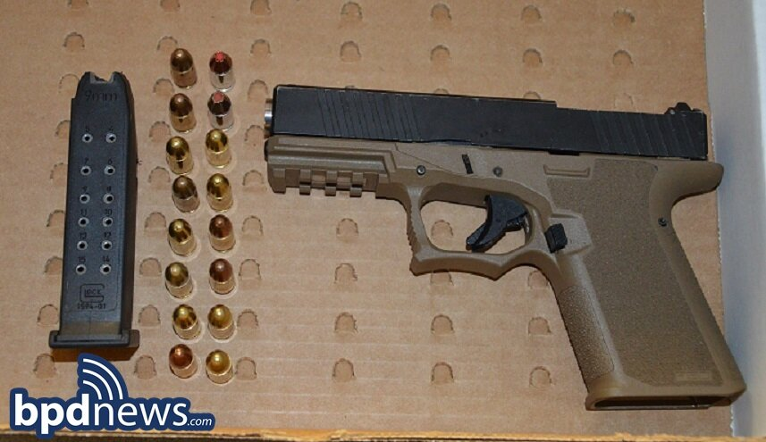 BPD Officers Recover Loaded Firearm After Responding to a Call for a Person with a Gun in Dorchester