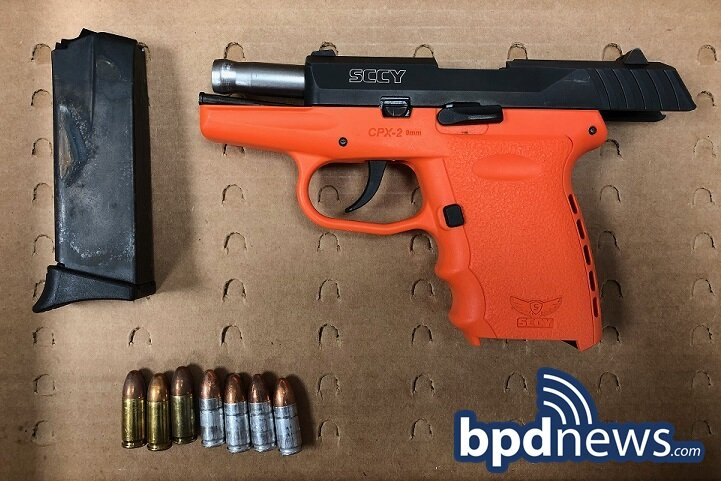 Suspect in Custody After BPD Officers Recover Loaded Firearm During Traffic Stop in Dorchester