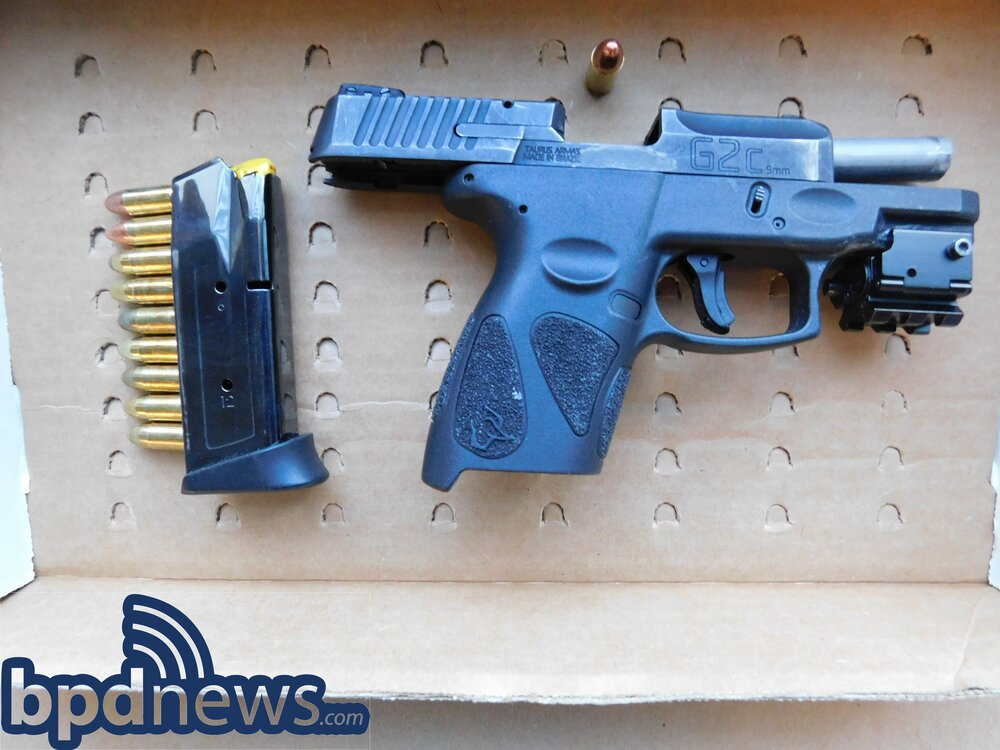 Traffic Stop Leads to Arrest of Juvenile for Outstanding Warrants & Possession of Firearm