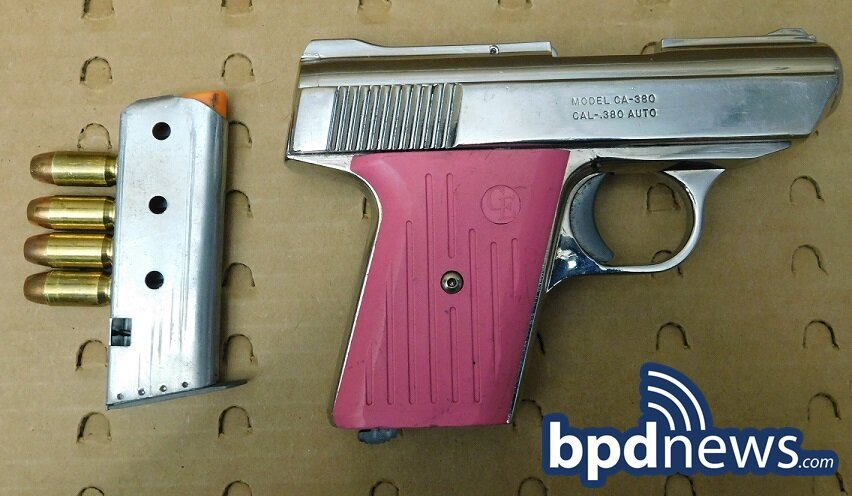 16-Year-Old Suspect in Custody After BPD Officers Recover Loaded Firearm in Dorchester
