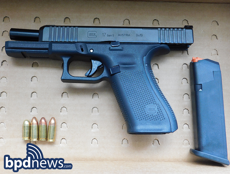 Suspect in Custody After BPD Officers Recover Loaded Firearm During Traffic Stop in Roxbury