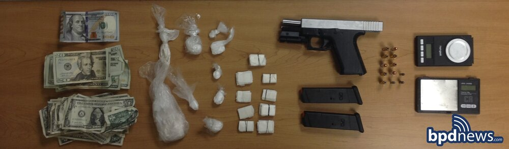 Two Suspects in Custody After BPD Officers Recover Loaded Firearm, Drugs and Cash During Investigation in Roxbury