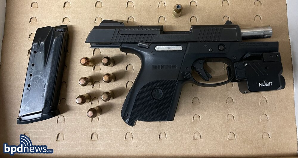 Acton Man Arrested on Weapons Charges after a Traffic Stop in Roxbury