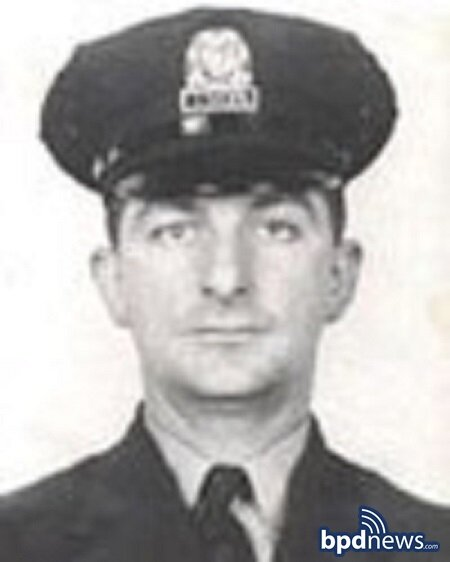 BPD Remembers the Service and Sacrifice of Officer John J. Gallagher Killed in the Line of Duty 59 Years Ago Today