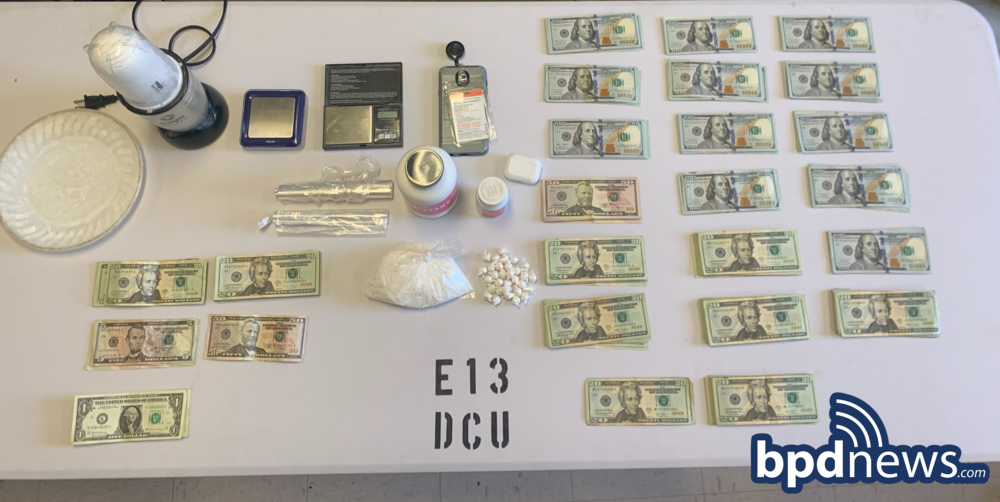 BPD Search Warrant Execution Leads to Arrest Following the Recovery of Drugs and Cash in Dorchester