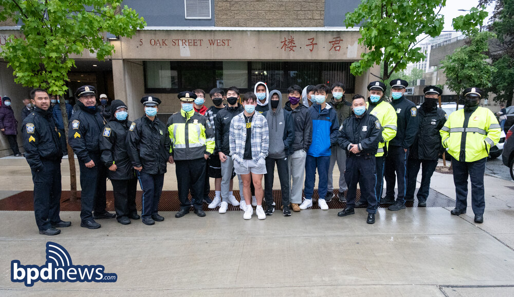 Several Hundred Personal Hand-Held Safety Devices Distributed to Elderly Residents in Chinatown