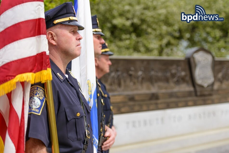 Happy Memorial Day from the Men and Women of the Boston Police Department