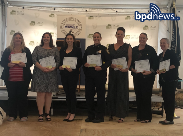 Great Work Recognized: Three BPD Women Awarded for their Service at the 2021 Spirit of MAWLE Award Ceremony