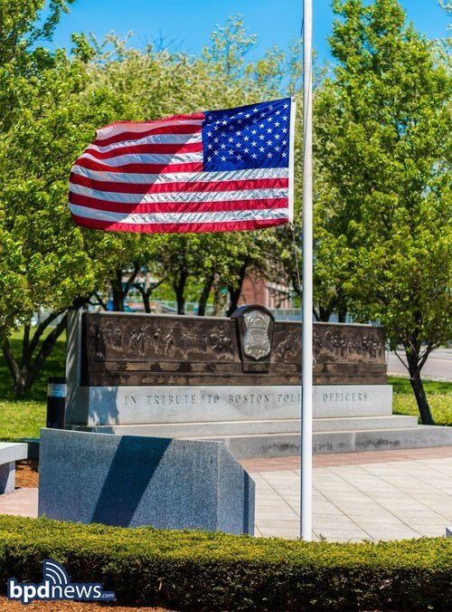 All Flags at Boston Police Facilities to be Lowered to Half Staff