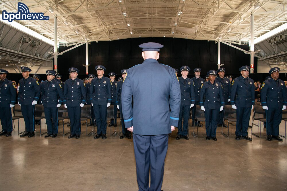 Congratulations to BPD Recruit Class 60-20 Upon Their Graduation from the Boston Police Academy