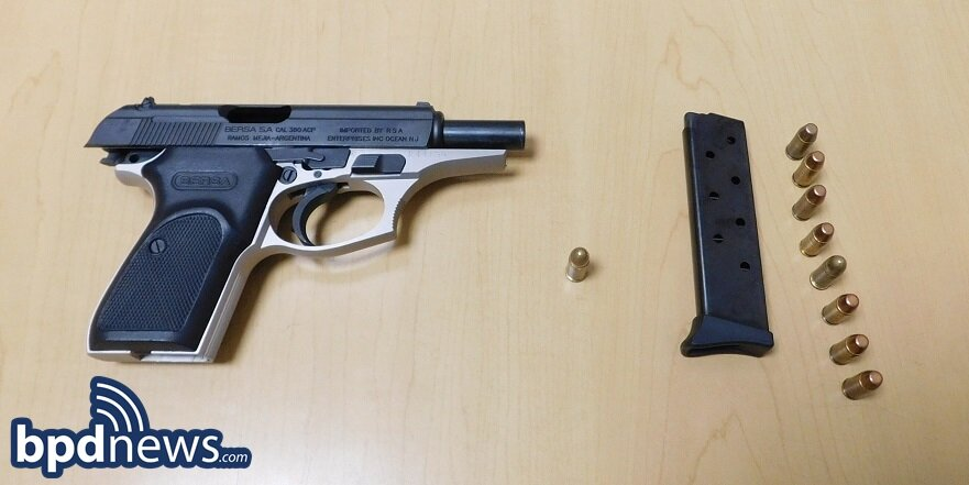 Suspect in Custody and Loaded Firearm Recovered Following Foot Pursuit in Roxbury