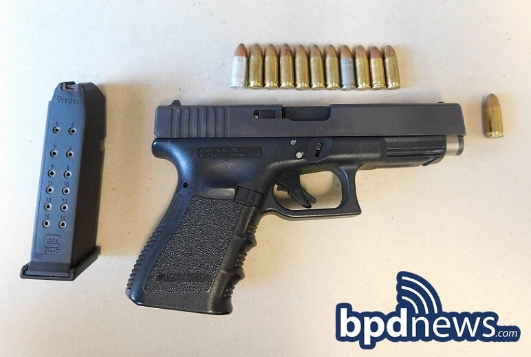 BPD Officers Recover Loaded Firearm and Drugs While Arresting Suspect Wanted in Connection to Recent Daytime Shooting in Roxbury