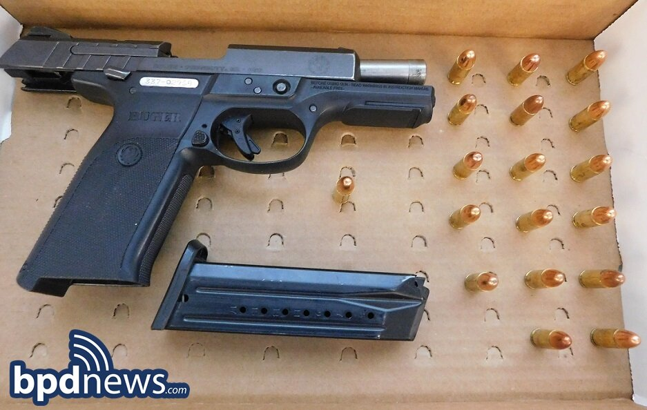 Two 17-Year-Old Suspects Arrested and Two Loaded Firearms Recovered Following BPD Response to Person with a Gun Call in Roxbury