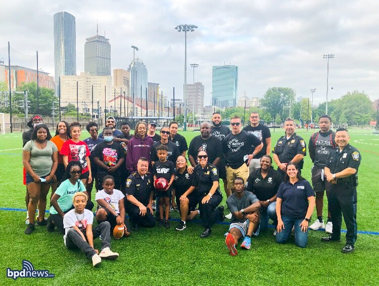 BPD in the Community: Dodge Ball Tournament Held to Celebrate the Final Day of the 2021 School Year