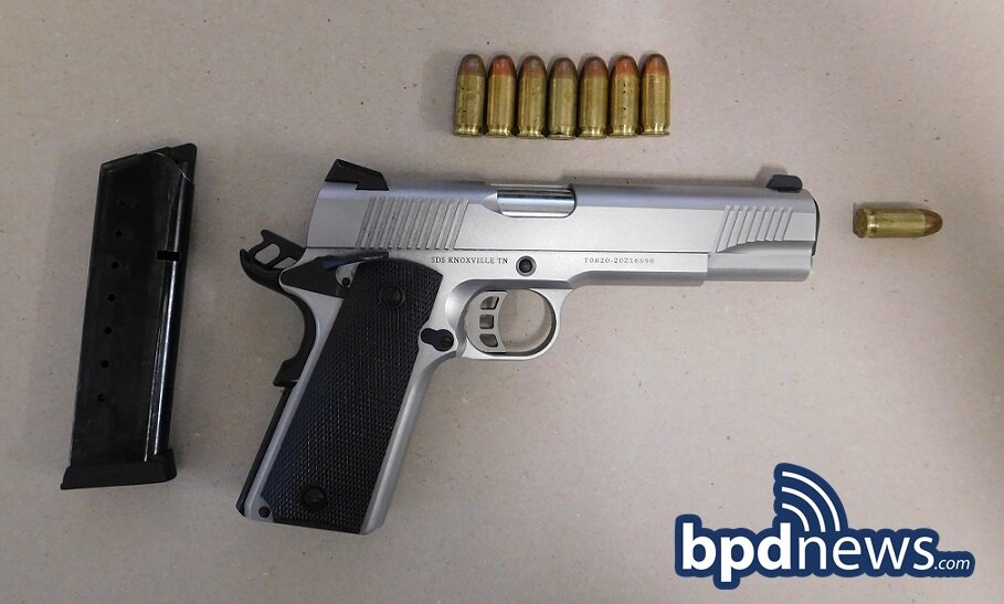16-Year-Old Suspect in Custody on Firearm Related Charges Following Traffic Stop in Dorchester
